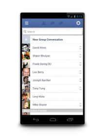 Facebook Updates Android App: 1.9 Adds Photos, Message Sharing From Home Screen.