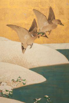 Detail. Japanese_Screen. Naga_Antiques