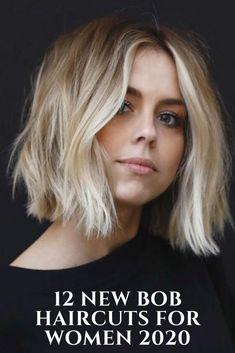 12 New Bob Haircuts For Women 2020  #hairstyles #Bobhair #haircut #hairstyle