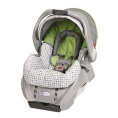Graco Snugride Infant Car Seat, Ally --- http://www.pinterest.com.gp1.me/ro