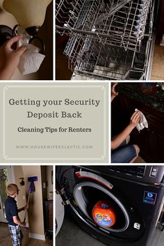 Housewife Eclectic: Getting your Security Deposit Back: Cleaning Tips for Renters. #cleanhomesavings @Walmart