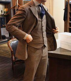 brown suit steedbespoke - Cerca con Google