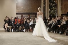 Fashion show at the NYC Public Library