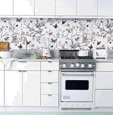 Image result for wallpaper kitchen splashback