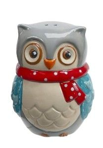 Take a look at this Boston Warehouse Snowy Owl Stacked Salt & Pepper Shakers on zulily today! Owl Always Love You, Salt And Pepper Set, Owl Bird, Snowy Owl, Salt Pepper Shakers, Earthenware, Hand Painted, Stuffed Peppers, Gifts