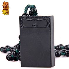 Black jade pendant All is well. natural jade original stone carving jade pendant jewelry and accessories(China (Mainland))