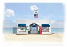 「オールドネイビー」のビーチハウスへ行こう!