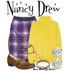 Inspired by Emma Roberts as the title character in 2007's Nancy Drew.