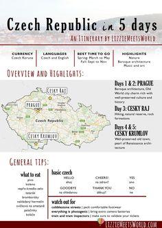 Czech Republic in 5 days: An Itinerary by LizzieMeetsWorld