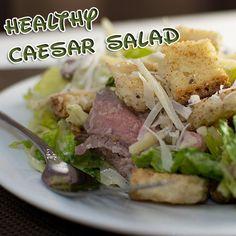 Caesar Salad Squared Healthier Caesar Salad