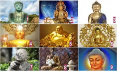 Válassz egy Buddhát és nézd meg mit üzen számodra!