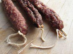 Dutch 'worst': sausages  droge worst