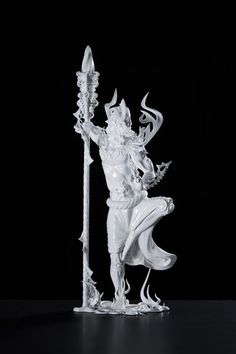 Japanese artist Taketo Kobayashi has again combined traditional Japanese animistic religious expressions with modern technology while 3D printing a gorgeous statue of the ancient Shinto god Sarutahiko. Maybe something for 3D Printer Chat?