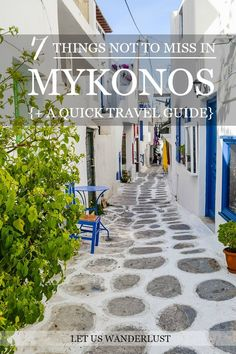 The 7 absolute must-dos when visiting the stunning Greek Island of Mykonos, and a quick travel guide on http://www.letuswanderlust.com/2016/03/quick-travel-guide-mykonos.html #wanderlust #mykonos #greekisland #greece #travelguide #mykonosguide
