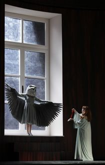 Royal Opera and La Scala's new visionary coproduction of Die Frau Ohne Schatten. Directed by Claus Guth, with Set and Costume Designs by Christian Schmidt and Lighting by Olaf Winter.