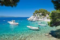 Want to Go: Liskamen Beach, Brela, Dalmatian Coast, Croatia