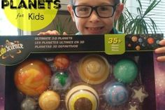 3D Hanging Planets for Kids – A Solar System in the Bedroom!