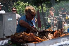 Image of Whole hog from Scott's BBQ from South Carolina at 11th Annual Big Apple BBQ Block Party at Madison Square Park!