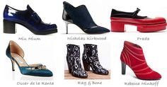 shoe trends for fall 2012
