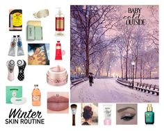 """winter time skin care"" by cassie-myers-1 ❤ liked on Polyvore featuring beauty, Carmex, Etude House, L'Occitane, Bliss, Clarisonic, Iluminage, Clinique and Estée Lauder"