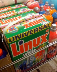 My mom told me she used Linux.