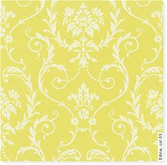 yvette floral wallpaper light yellow wallpaper with block floral