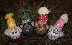 cat lightbulb ornaments