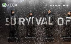 Reality shows meets outdoor. 8 people were asked to endure 24 hs, and suffer the challenges thrown to them by the fans to mark the launch of the new Tomb Raider game.