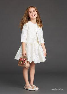Детская мода: Детская коллекция Dolce & Gabbana, осень-зима 2015-2016