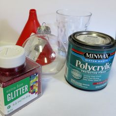 Silhouette School: Glitter Ornaments: A DIY Silhouette Tutorial