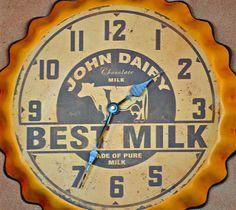 """""""Best Milk"""" Clock"""