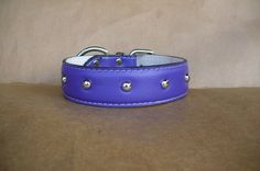 Best Collar for Dogs - Durable Dog Collars - Wide Studded Leather Dog Collar, XL | eBay