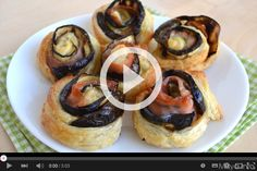 Video ricetta rose di melanzane