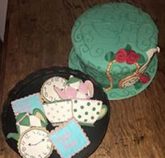 Mad Hatter Tea Party Cookies! by Gardenia Sweets