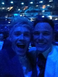 Niall and Olly. Two of my favorite people! :)
