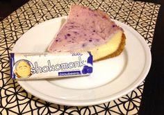 Shokomonk Blueberry White Chocolate Cheesecake