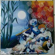 20 Modern Art Paintings Of Radha Krishna