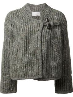 Shop Chloé toggle fastening cardigan in Kirna Zabête from the world's best independent boutiques at farfetch.com. Shop 300 boutiques at one address.