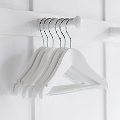 Baby Wooden Hanger | The White Company