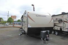 2016 New Forest River CASCADE Travel Trailer in Washington WA.Recreational Vehicle, rv, 2016 FOREST RIVER CASCADE, This new 2016 Forest River Cascade 264L is equipped with one slide out, a cozy sleeper sofa, 2 lounge chairs at the back and space for an LCD TV in the living area. In addition, there is a booth for dining, entertaining and additional sleeping quarters. The kitchen is equipped with a high gloss seamless counter top, deep pantry for storage, double bowl under-mount sink, drop in…
