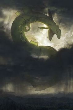I painted Rayquaza as a titan (OC) - pokemon Pokemon Rayquaza, Oc Pokemon, Pokemon Fan Art, Pokemon Fusion, Pokemon Cards, Cool Pokemon Wallpapers, Cute Pokemon Wallpaper, Rayquaza Wallpaper, Another Anime