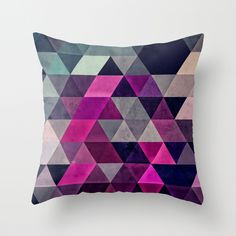 The Hexagonal Pattern reflects several hexagons to create a dazzling design. Made of 100 percent polyester poplin, each double-sided pillow has been individually cut and sewn by hand. A concealed zippe...  Find the Hexagonal Pattern Pillow, as seen in the Lofty Aspirations Collection at http://dotandbo.com/collections/lofty-aspirations-1?utm_source=pinterest&utm_medium=organic&db_sku=111408