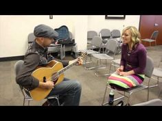Come Thou Fount: Justin Cash and Calee Reed Improv Session at Deseret Book
