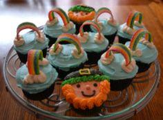 St. Pat's cupcakes