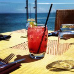 Ahhhh...So much to love! #CarbonBeachClub #MalibuBeachInn #summer #cocktail  #oceanfront #terrace #dining #Malibu #restaurant