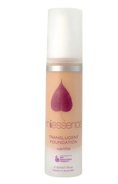 Miessence Organic Vanilla Translucent Foundation (fair skin) - Sample Sachet 10 Pack. $6.20