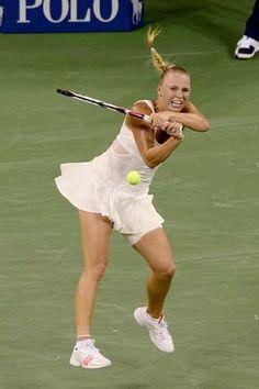 Caroline Wozniacki grinds (2011 @US Open Tennis Championships)