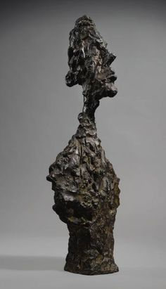 Buste De Diego by ALBERTO GIACOMETTI