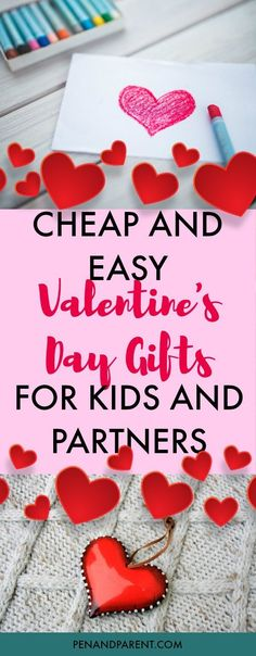 Are you looking for cheap Valentine's Day gifts for kids and partners? You have to check out these cute budget-friendly gift ideas that will make your child or boyfriend smile for under $10 bucks. FREE CHILDREN'S BOOK PRINTABLE. #CheapValentinesGifts #ValentinesDayGfits