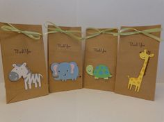 NEWNoah's Ark Baby Shower Small Treat or Favor by ThePirdieBirdie, $18.00